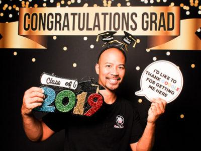 san antonio photo booth graduation