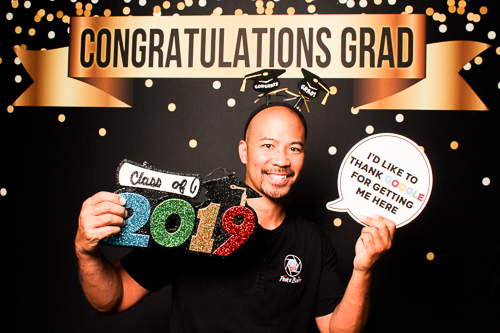 Graduation Photo Booth Rental | Peek A Booth | San Antonio Photo Booth